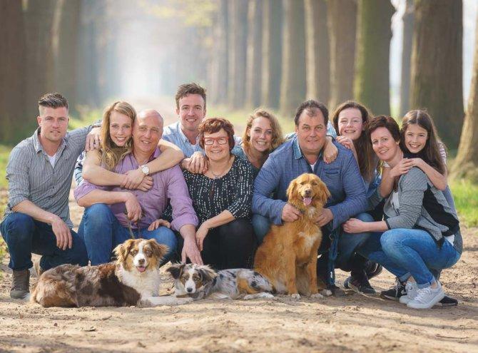 Familie Hoogenboom & de Bresser
