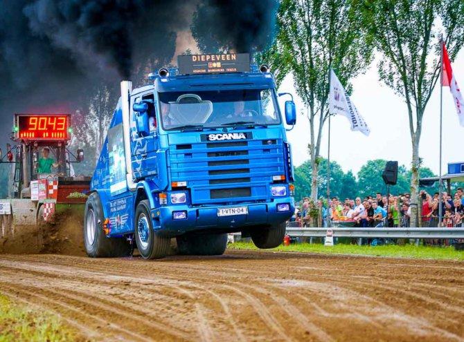 NK VTN Truckpulling Nederhemert