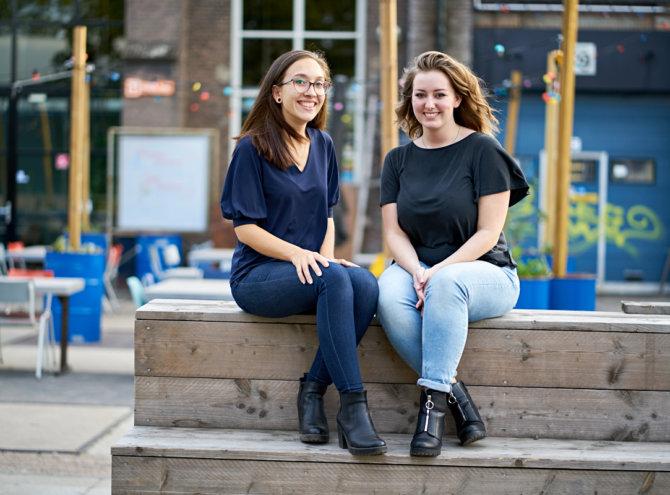 Eveline en Tess