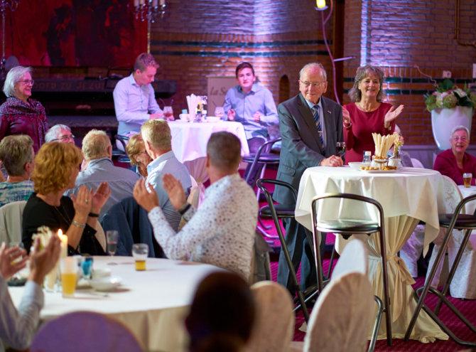 Hans 90 jarig jubileum – bij Kloosterhotel La Sonnerie